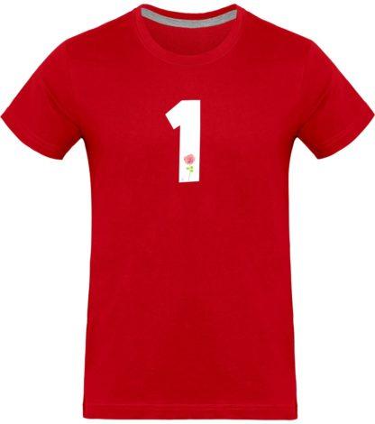 T-shirt homme Derrick Rose 1 - rouge - Face
