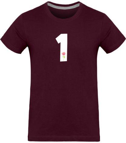 T-shirt homme Derrick Rose 1 - bordeaux - Face