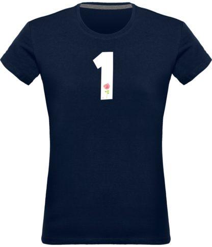 T-shirt Derrick Rose 1 Femme - Navy - Face