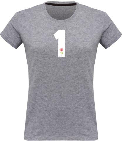 T-shirt Derrick Rose 1 Femme - gris chiné - Face
