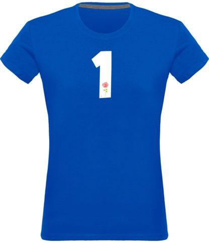 T-shirt Derrick Rose 1 Femme - bleu - Face